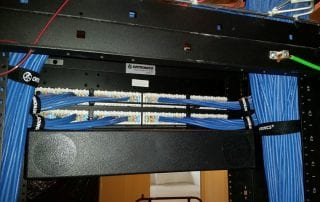 cabling server rack